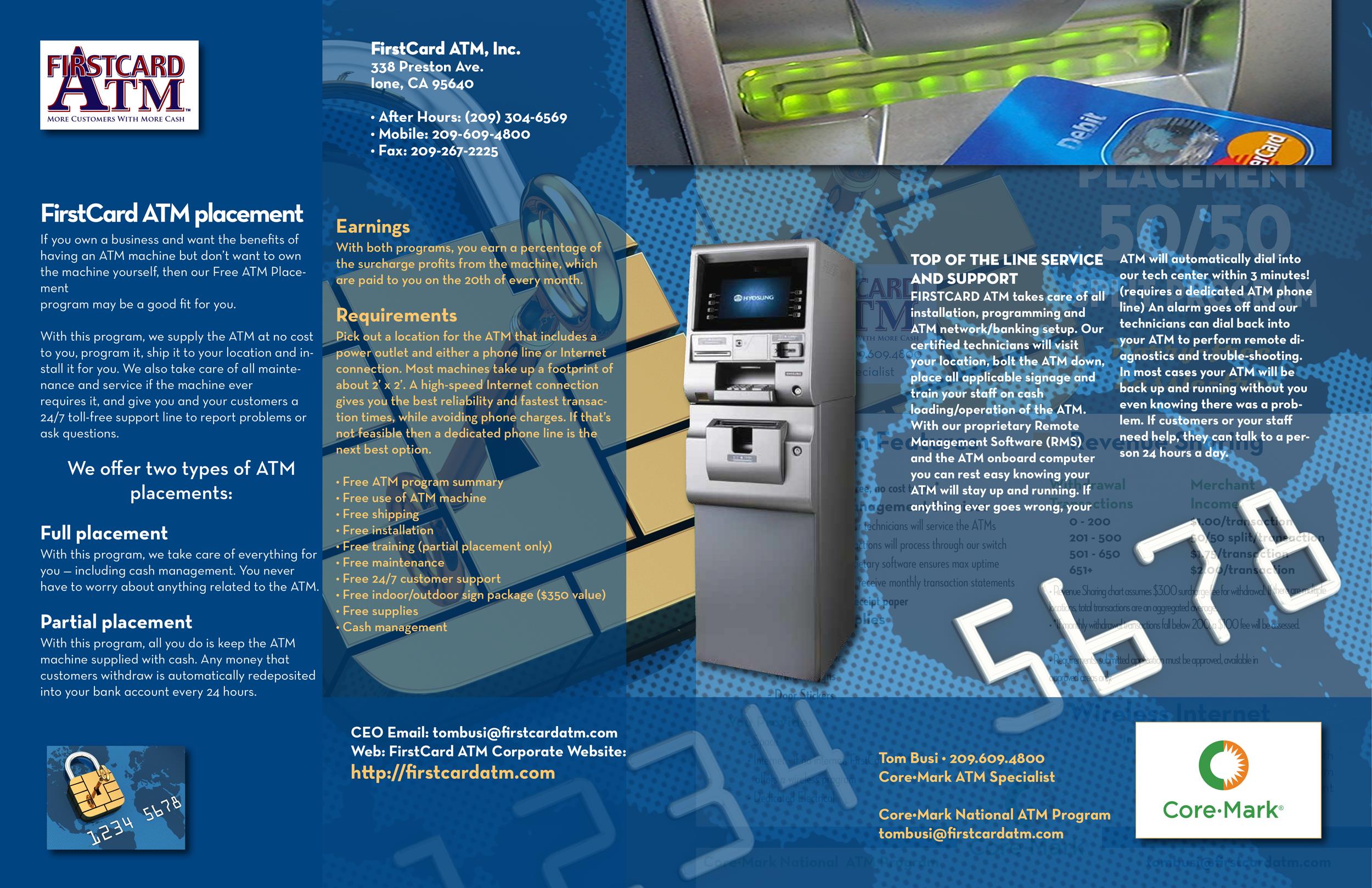 first card atm brochure 11x17 worldhenge creative