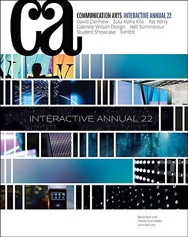 Communication Arts: Interactive Annual cover